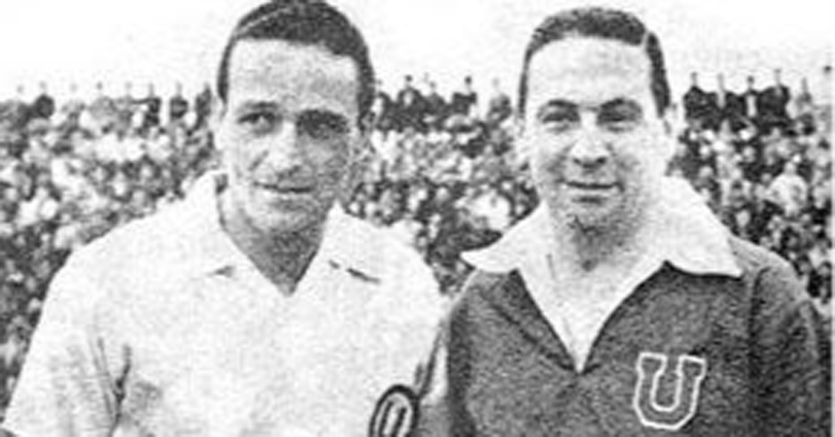 U de Chile vs Universitario (Santiago, 1940)